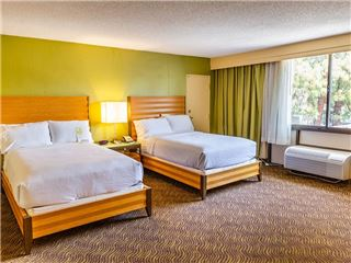 Two Beds Room in Holiday Inn San Jose Silicon Valley California