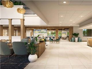 Lobby Pub Rendering In Holiday Inn San Jose - Silicon Valley