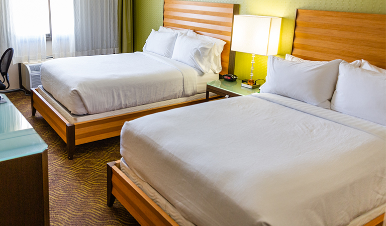 2 Double Beds Deluxe Nonsmoking in Holiday Inn San Jose - Silicon Valley, California