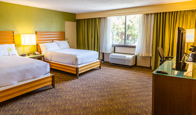 2 Double Beds Executive Nonsmoking in Holiday Inn San Jose - Silicon Valley, California